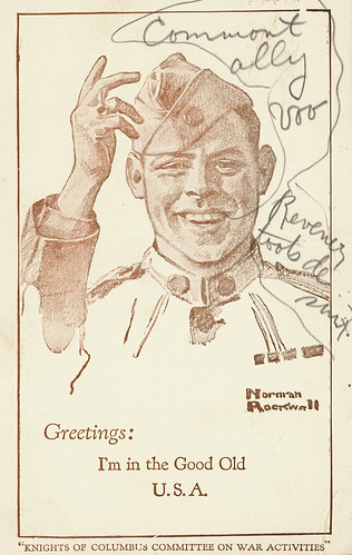 WW I Safe Return Card by Norman Rockwell | by RV Bob