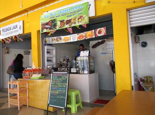 Simpang Tiga SEDC hawker centre - food stall