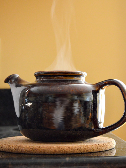 Brewing Lunch Tea