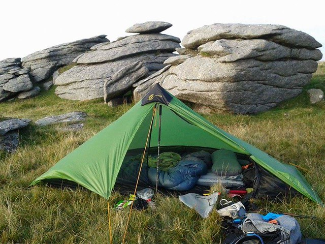 Camp on Fur Tor