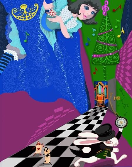 Алиса в стране новогодних чудес
