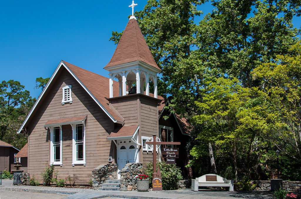 """The Little Brown Church of Sunol 
