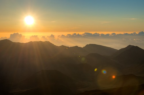 Haleakala just after sunrise | by rogersmj