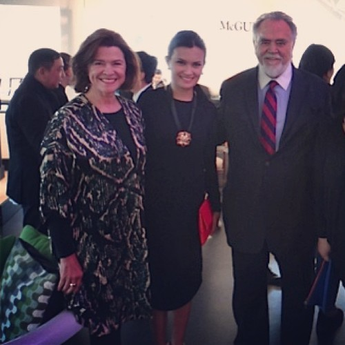 With Kohler's Chairman & CEO Herbert V. Kohler Jr and wife Natalie at #Kohler's 140th anniversary party in Wisconsin. | by The Dafinator
