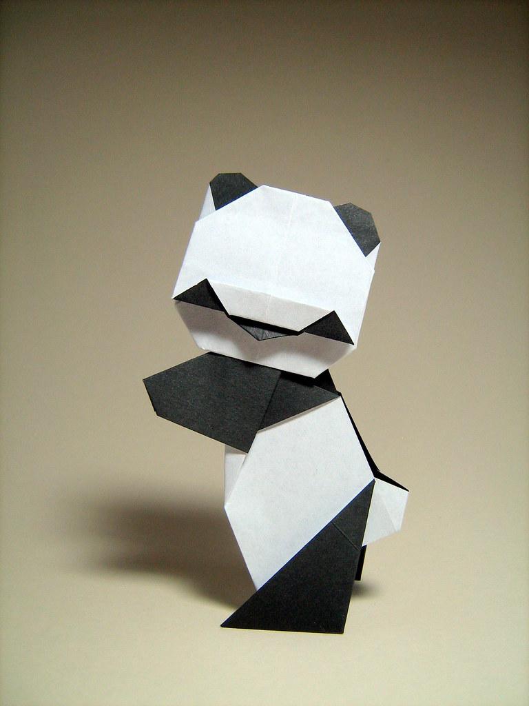 origami panda steve biddle origami panda by steve