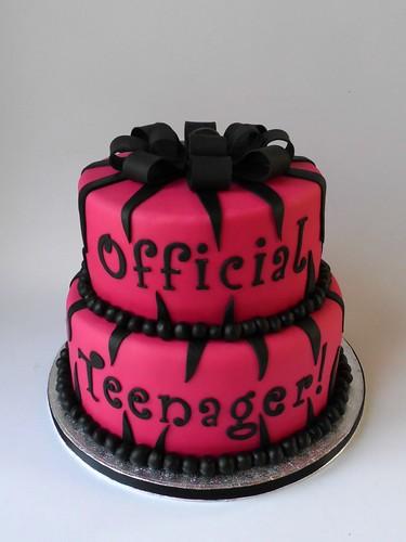 Official Teenager Birthday Cake Melissa Rayner Flickr