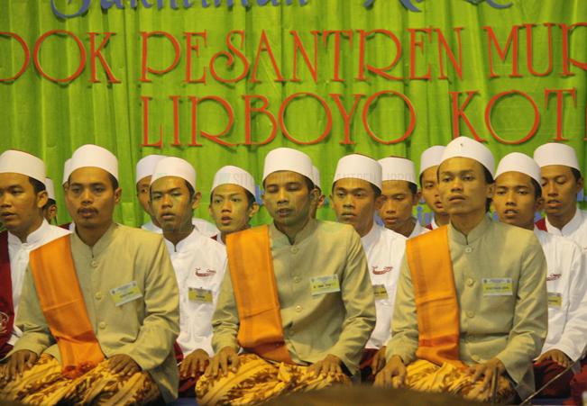 Peserta Khotmil Quran Lirboyo