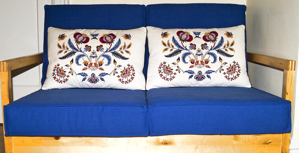 Old New Ikea Sofa My Lillberg Sofa White Cushions From