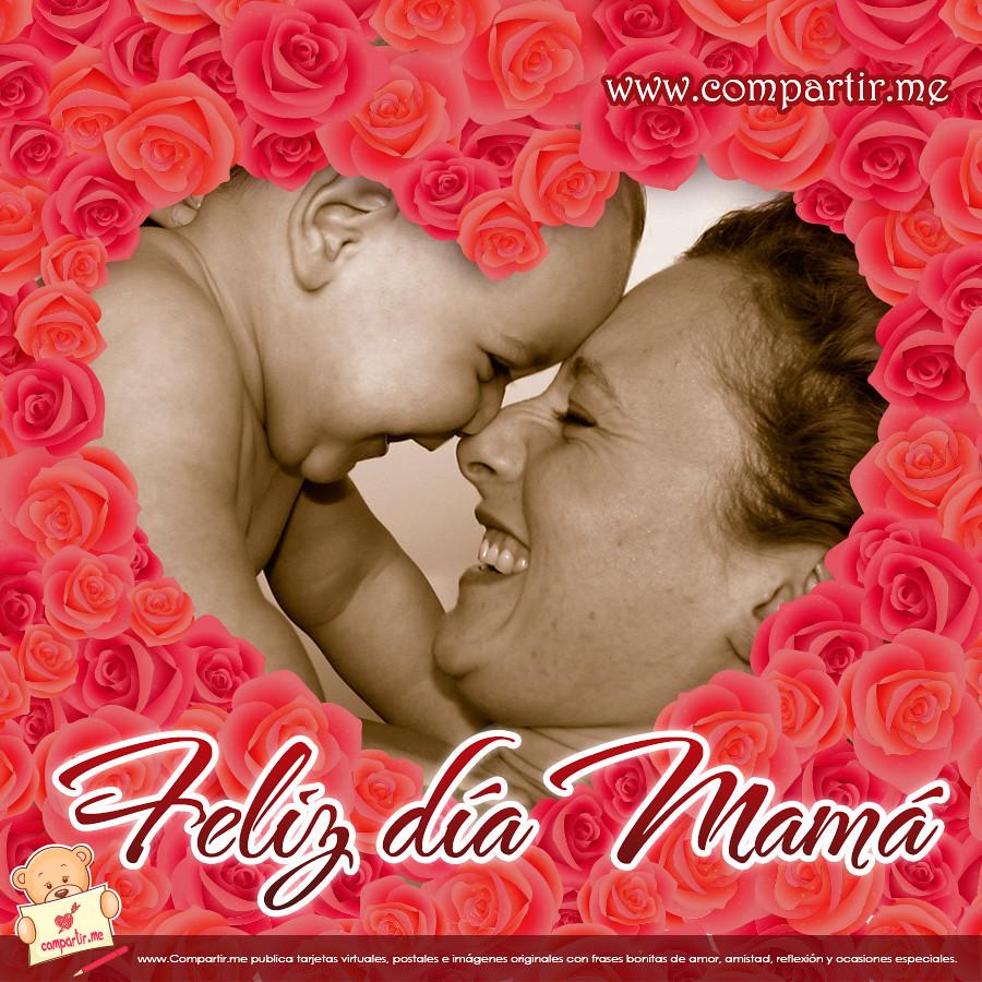 Frases De Amor Imagen De Madre Con Su Hijo Feliz Dia Ma Flickr