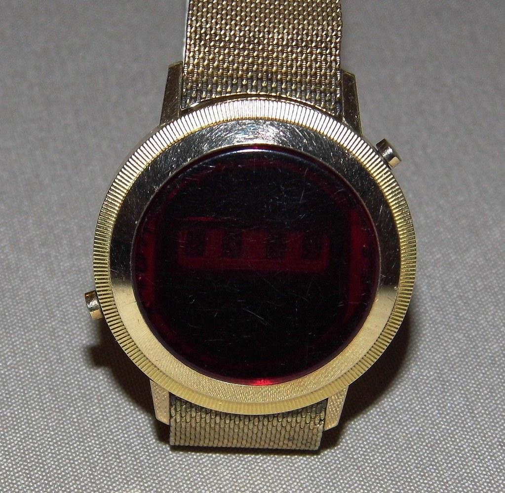 Vintage Digitime LED Watch, Circa 1970s | Joe Haupt