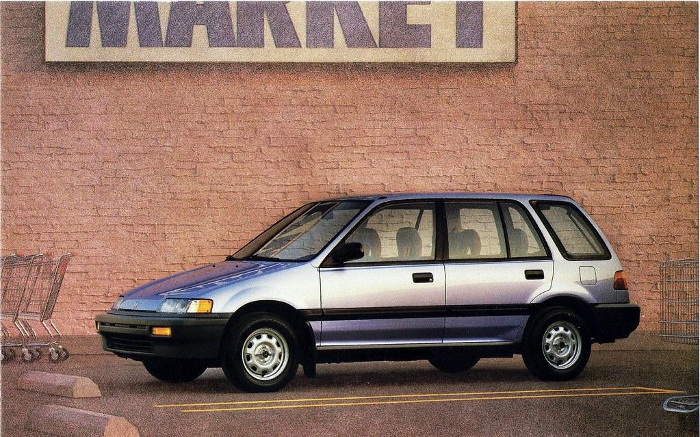 1988 Honda Civic Wagon Alden Jewell Flickr