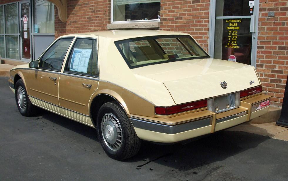 1986 Cadillac Seville Its Peculiar To Say The Least