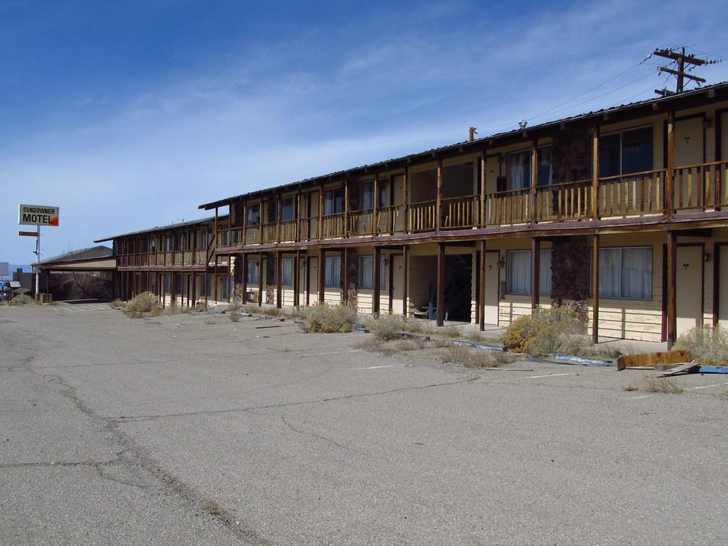 Tonopah Nevada Closed Down Sundowner Motel Jasperdo