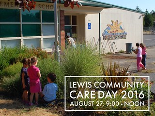 Lewis Community Care Day 2016 August 27: 9:00 - Noon #lewis | by lewiselementary