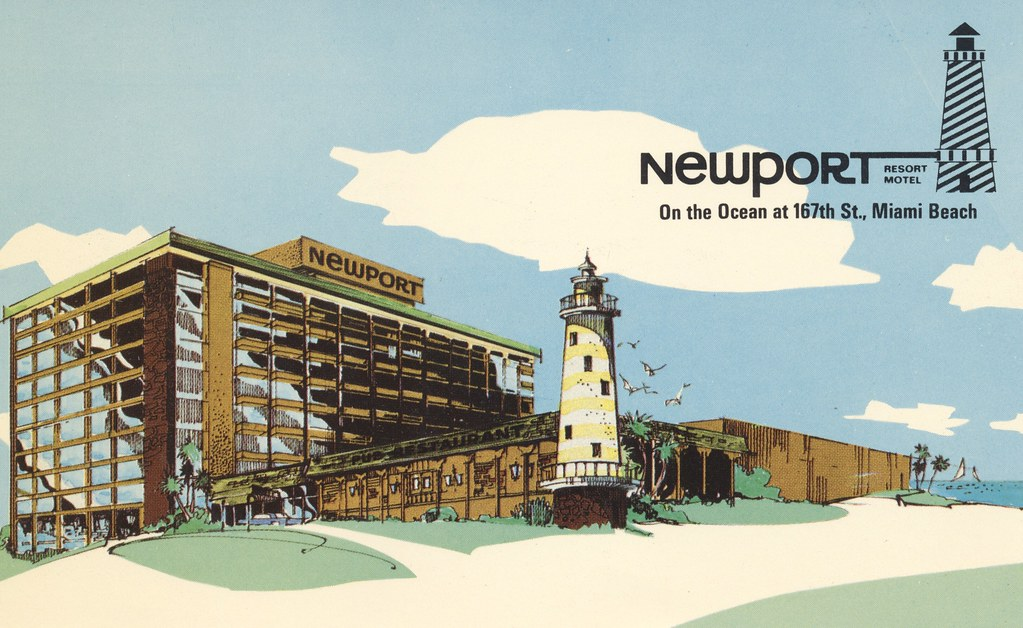 Newport Resort Motel - Miami Beach, Florida