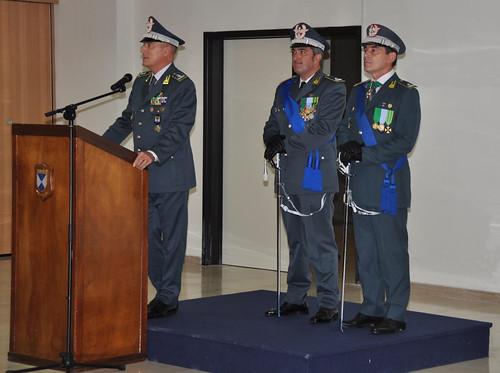 cambio gdf comando provinciale bari
