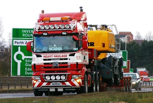Scania 580 Super West Of Scotland Heavy Haulage Cumberna
