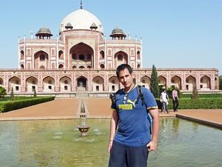 Sele en la Tumba de Humayun (Delhi, India)