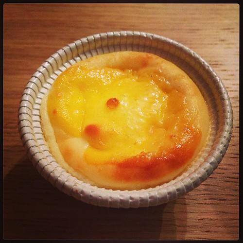 岩瀬牧場のほっかほかチーズだよ! #飯テロ