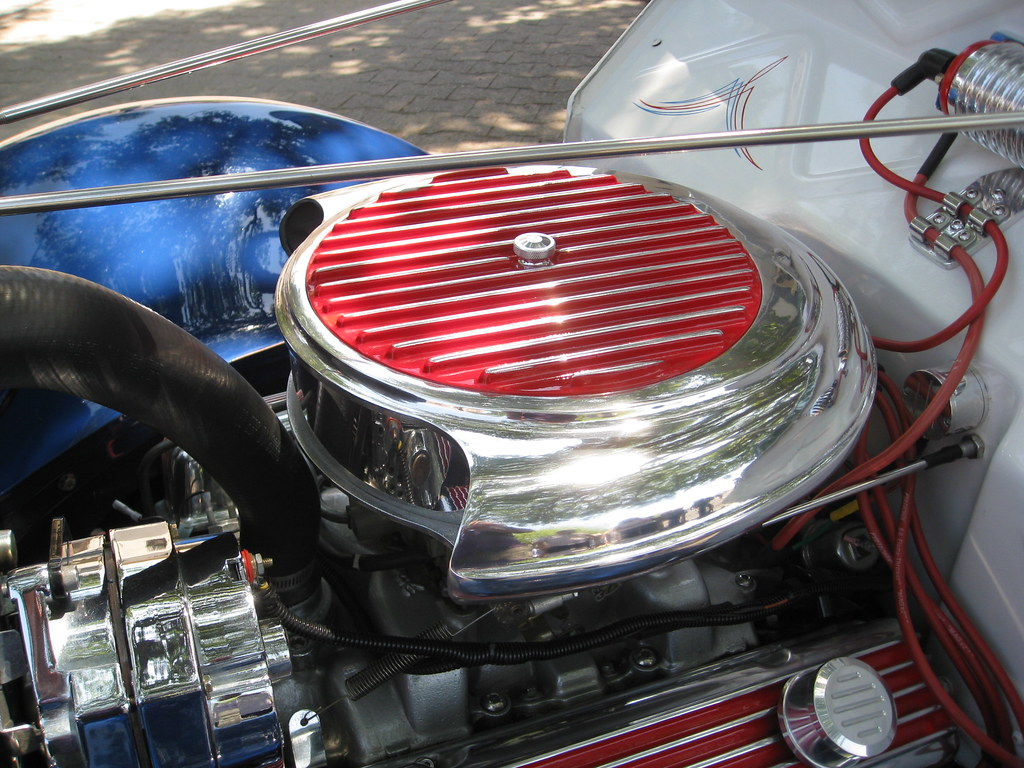 Custom Automotive Air Cleaners : I believe this would be a custom or cadillac air