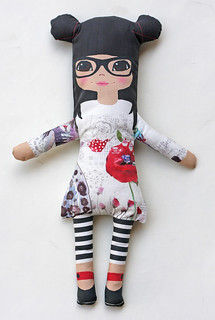 Asian girl  soft fabric dolls | by Katarina Roccella
