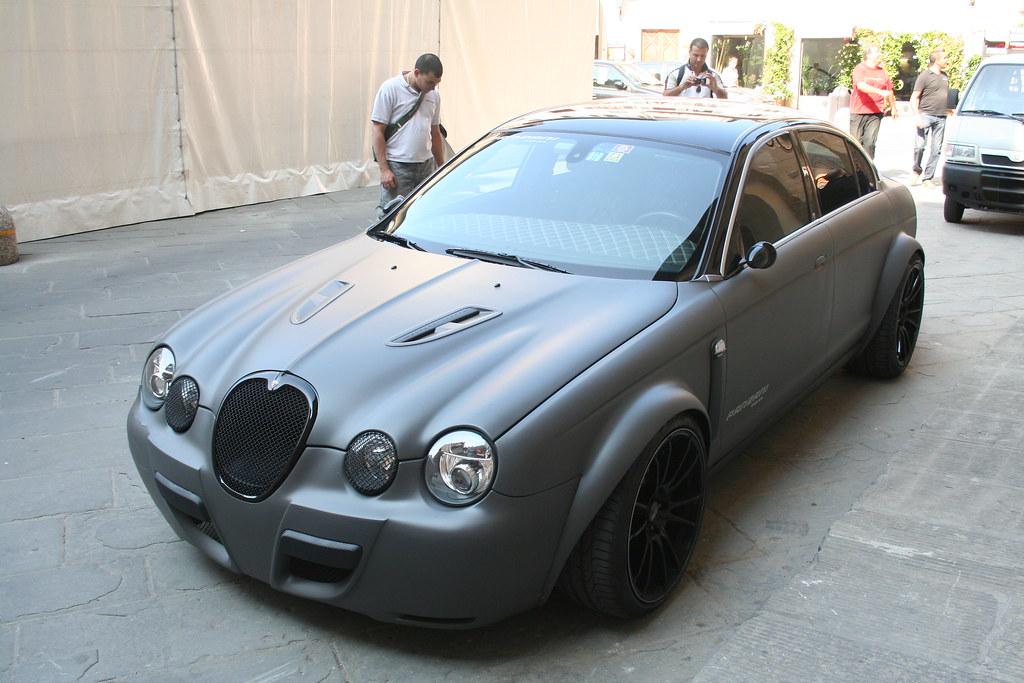 Jaguar S Type Slightly Modified Seen In Piazza