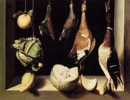 Sanchez Cotan, Juan (1560c.-1627) -  1600-03 Still Life with Game Fowl (Art Institutue of Chicago, USA) | by RasMarley