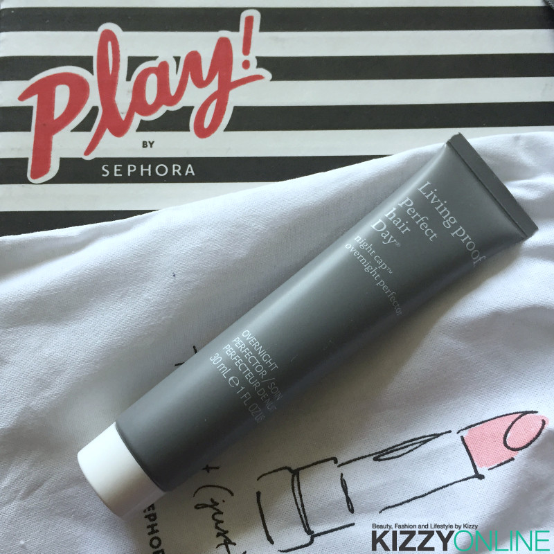 Sephora Play subscription box August 2016 month's