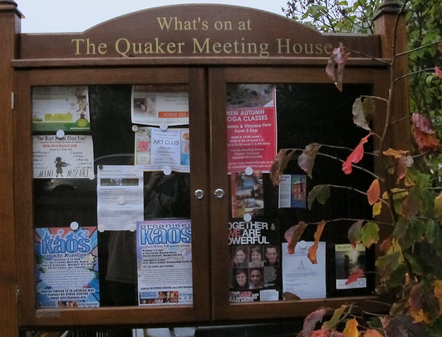 2012 10 22 New outside noticeboard cropped