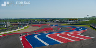 Race Track Mimics Art | by Steven Szabo