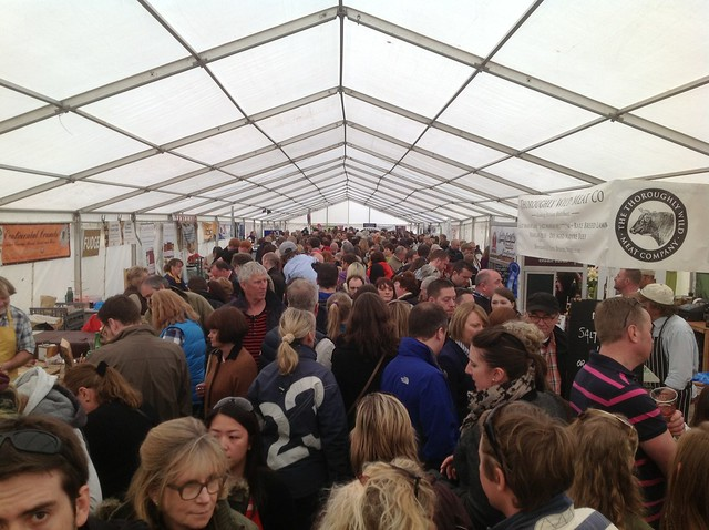 Exeter Food Festival Opening Times