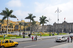 Take a walk at the Plaza de Armas - Things to do in Lima