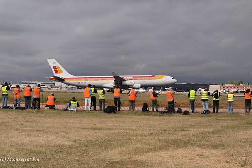 recibiendo al A340