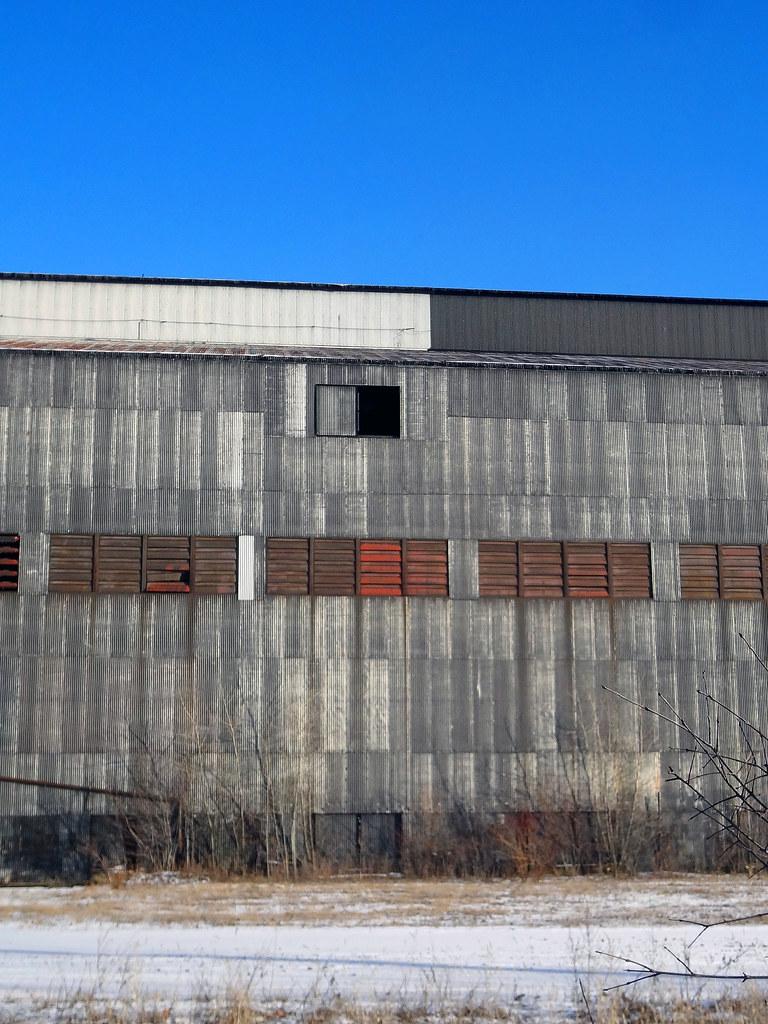 Industrial Galbestos Exterior Siding Weathered Asbestos