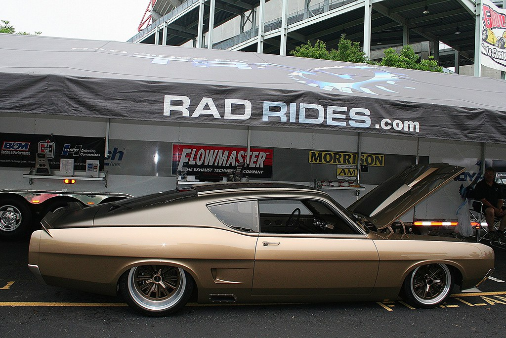 New Ford Torino >> Rad Rides Custom 1969 Ford Torino | Mitch Prater | Flickr