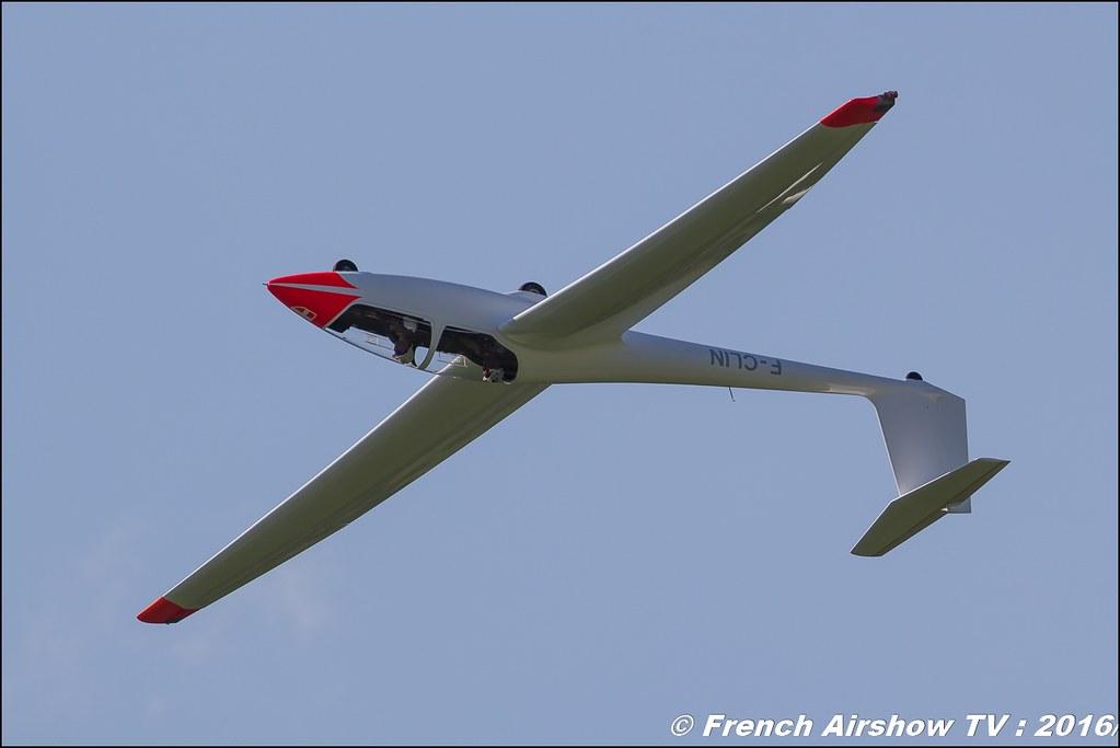 Les planeurs de Challes (CSVVA), F-CLIN , planeur voltige , Grenoble Air show 2016 , Aerodrome du versoud , Aeroclub du dauphine, grenoble airshow 2016, Rhone Alpes