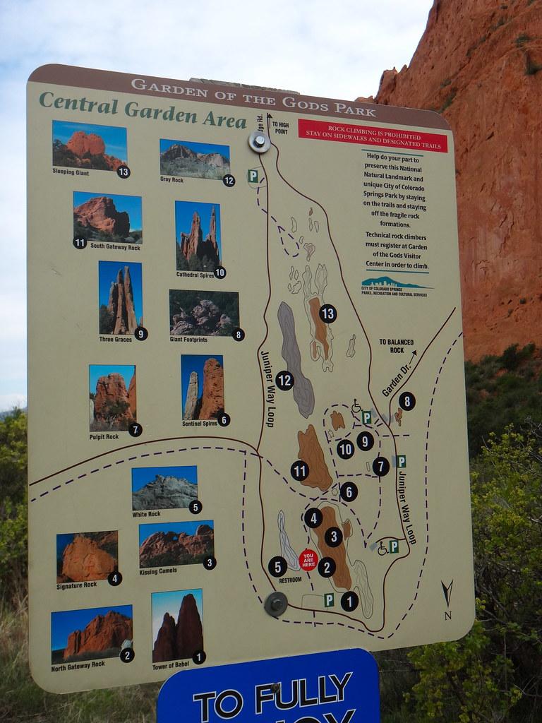 Garden Of The Gods Colorado Map.Garden Of Gods Trail Map Colorado Springs Co Quiggyt4 Flickr