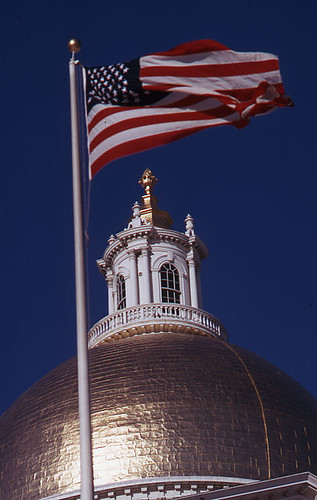Dome of the Massachusetts State House | by City of Boston Archives