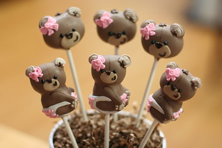 Baby Teddy Bear Cake Pops | by Sweet Lauren Cakes