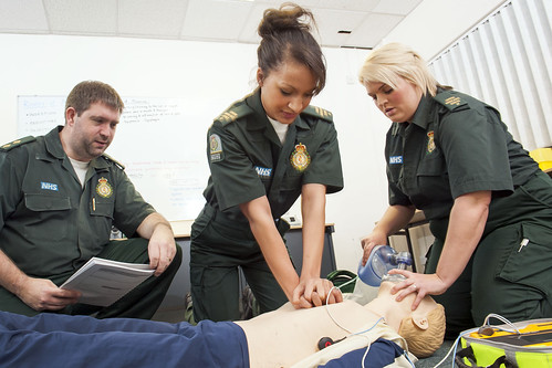 anwara apprentice paramedic a training officer and