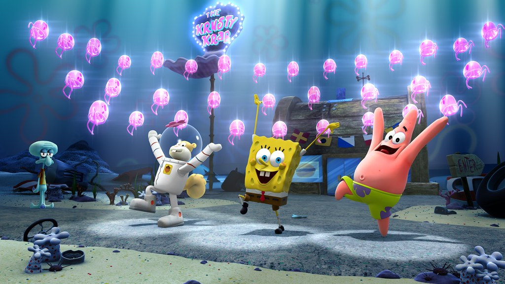Spongebob Squarepants 4d The Great Jelly Rescue At Nick Ho