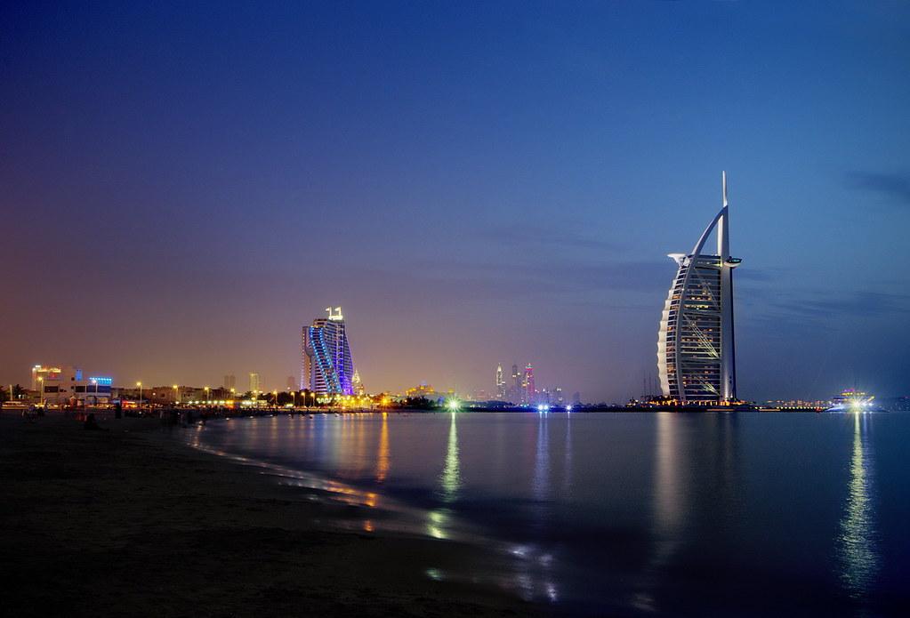 Burj al arab jumeirah beach dubai united arab emirate for The burg hotel dubai