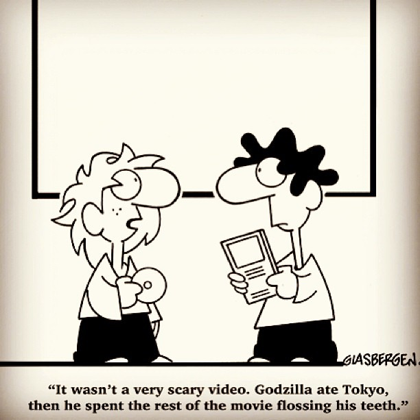 Happy Friday! Here is a pretty funny cartoon to start off ...