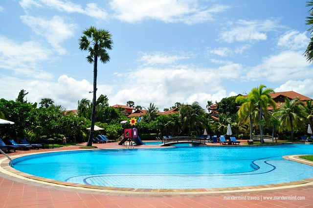 Angkor Palace Resort & Spa Main Swimming Pool