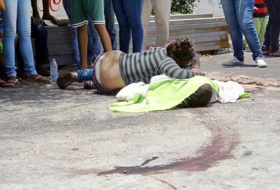 Lo matan en Castillito, Puerto Ordaz, cuando compraba arroz con su esposa e hija