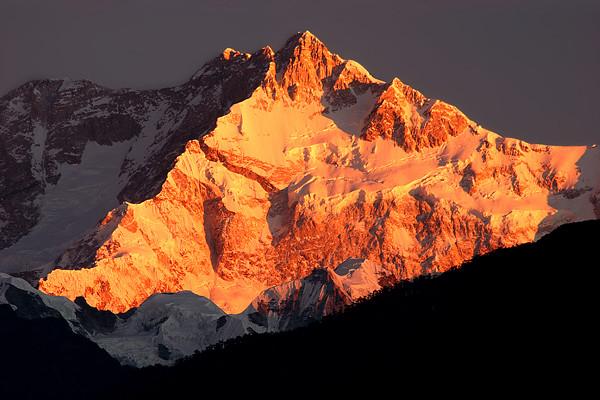 Kanchenjunga Sunrise