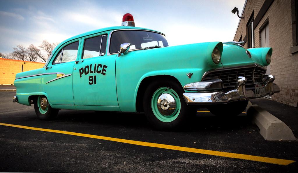Old School Police Car | Marfa | Flickr