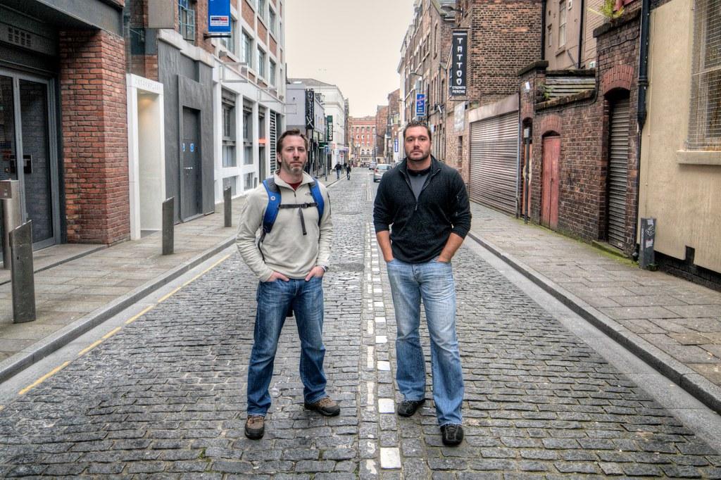 Doug & Conrad on Wood Street