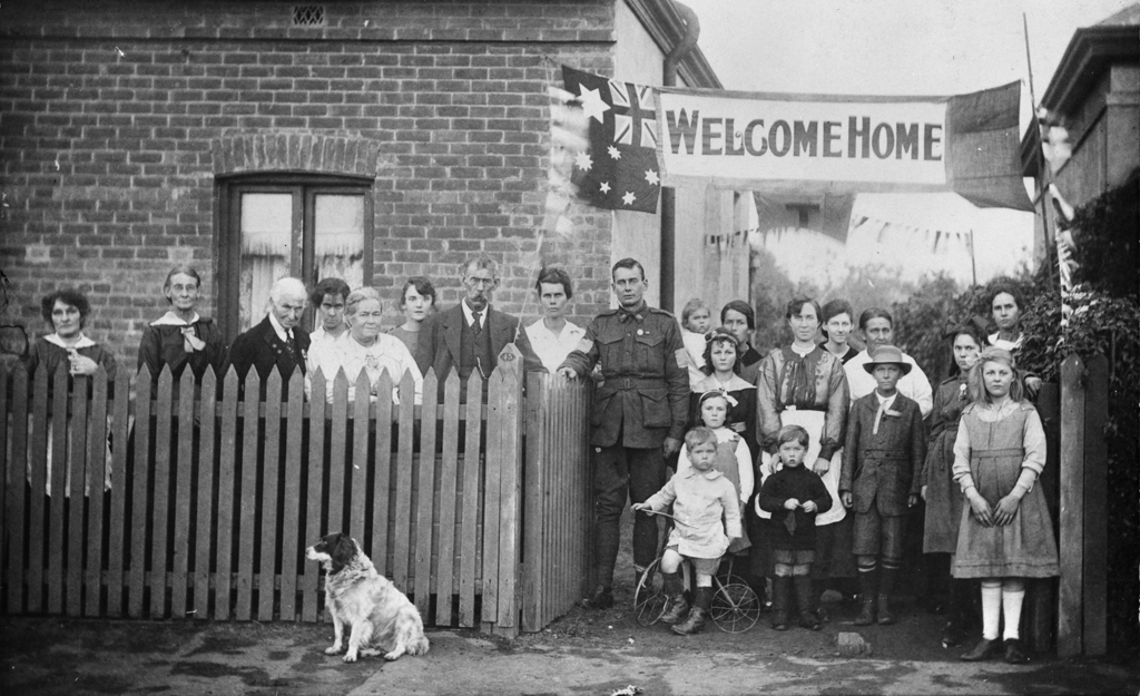 Welcome Home Sapper Dunbar Id Number P05328 001