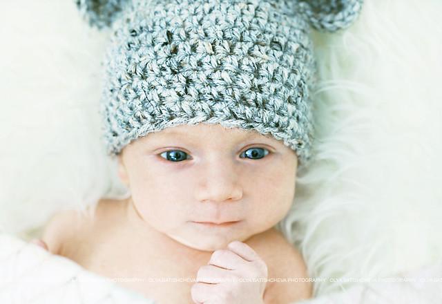 Cute newborn baby boys
